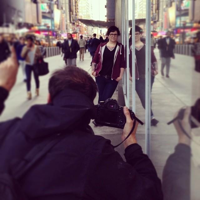 Secret photo shoot!