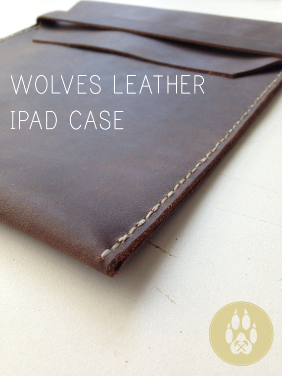 Protect your ipad in this handmade leather flap case. It is designed specifically for the ipad but is also great for documents, photos, or mail. Fits and protects well in a messenger bag, backpack, or any other bag you may throw your Ipad into.
