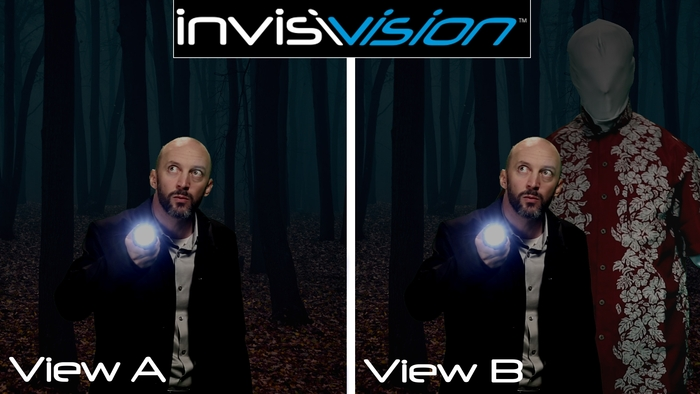 Invisivision eyewear allow you to control what you see.