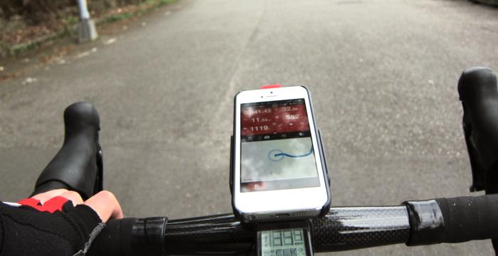 Grip+ on a road bike
