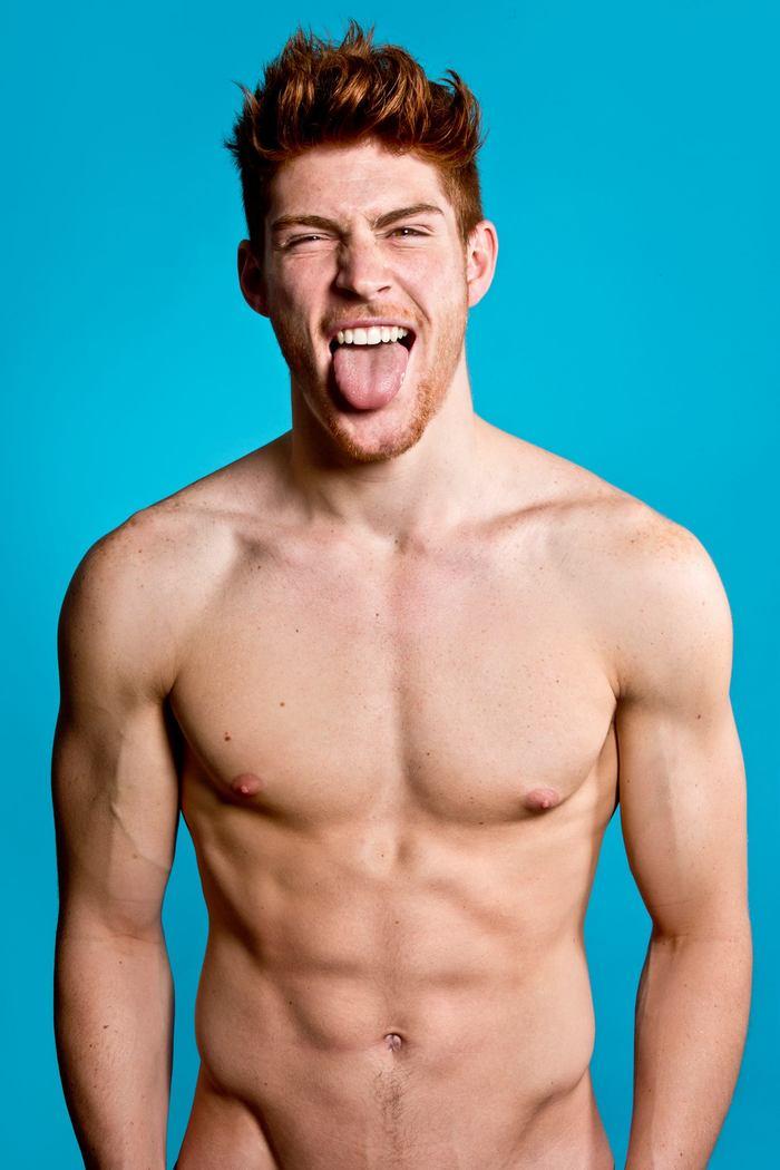 Danish model Kenneth Bek