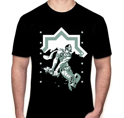 Next Level Jersey T-shirt, 4.3 oz. 100% combed ringspun cotton