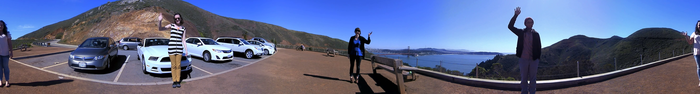 ... on a road trip up the California coast. (click to see the video)