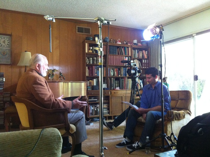 Director Tim Delmastro Interviewing G Edward Griffin