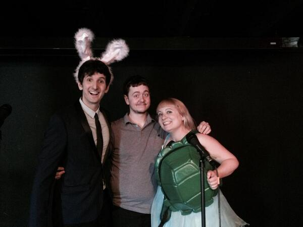The tortoise and the hare and Kenn!