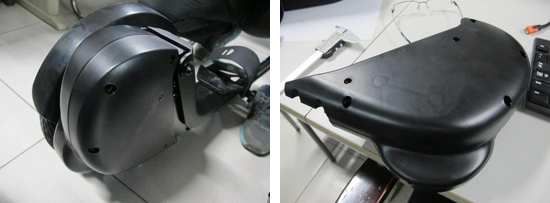 Sample images of the moulded transmission cover, took literally ages to polish all aspects of it :).