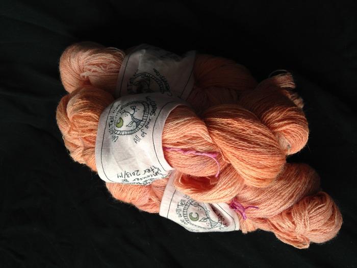 Naturally Dyed Yarns