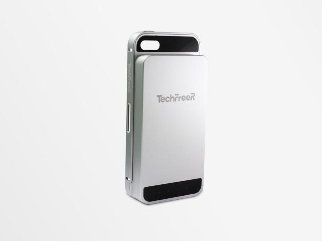 The TechFreeR Head-Fi in silver.