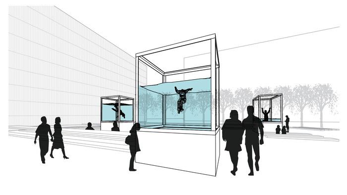 Holoscenes 3 Aquarium concept rendering (by Peter Zuspan / Bureau V)