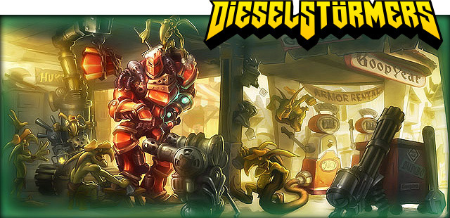 Dieselstormers funded for its diesel-fueled game on Kickstarter