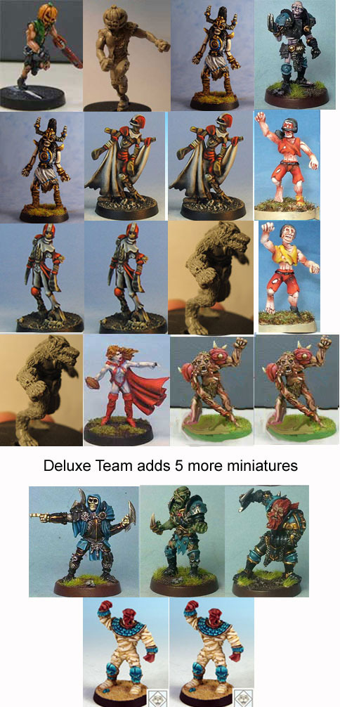 17 Team Fantasy Football KS by Impact Miniatures (LAST FEW