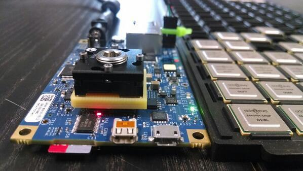 Update #53: The 64-core Parallella is alive!