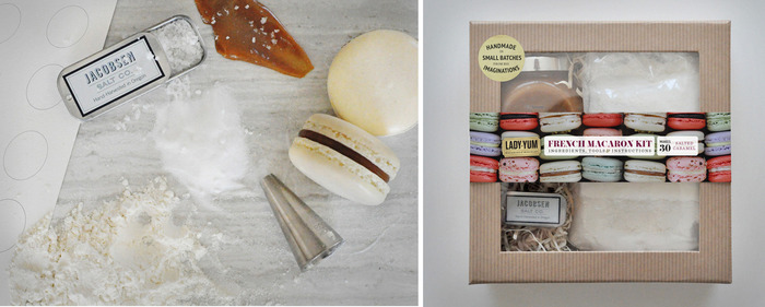 Backers who pledge over $75 will receive the Lady Yum French Macaron Kit!