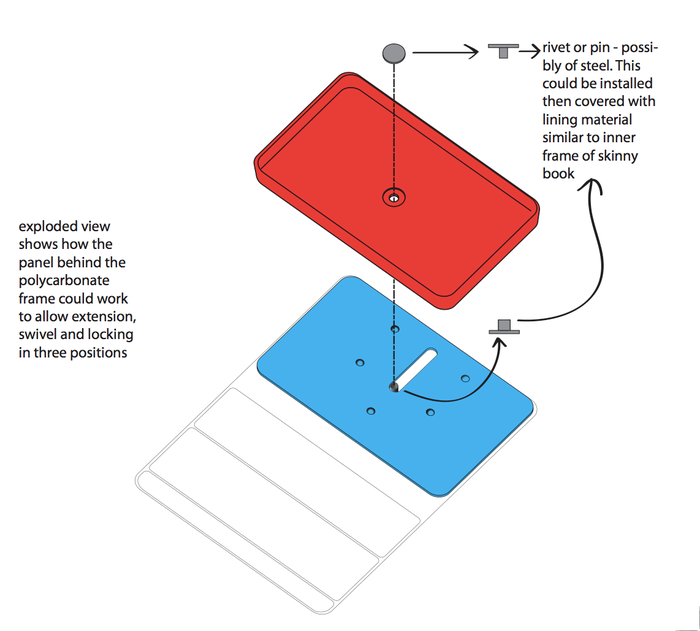 Engineering file showing mechanics of case