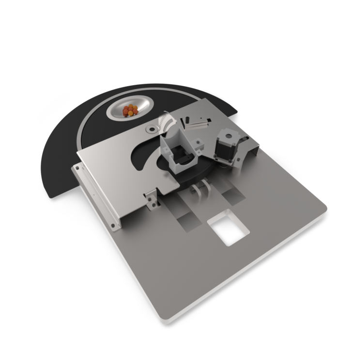 CAD of our delivery mechanism