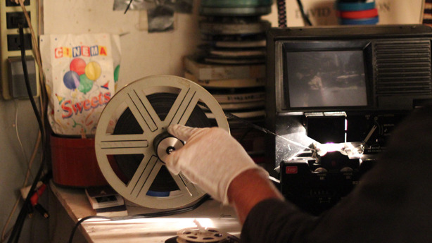 Going through tons of Super-8 shot from the late 1970s to the mid 1980s in D.C.