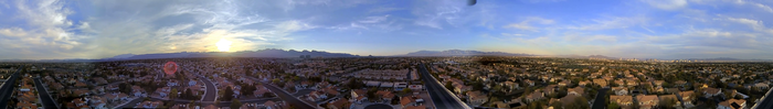 ... on a quadcopter. (click to see the video)