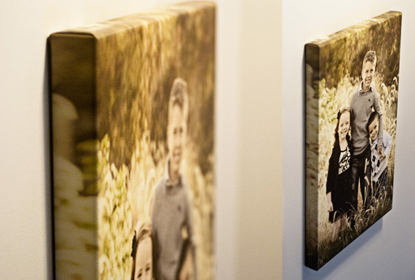 Canvas Gallery Wrap: Image is only an example