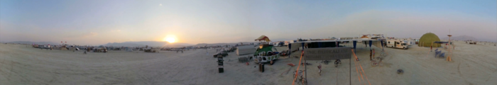 ... at Burning Man. (click to see the video)