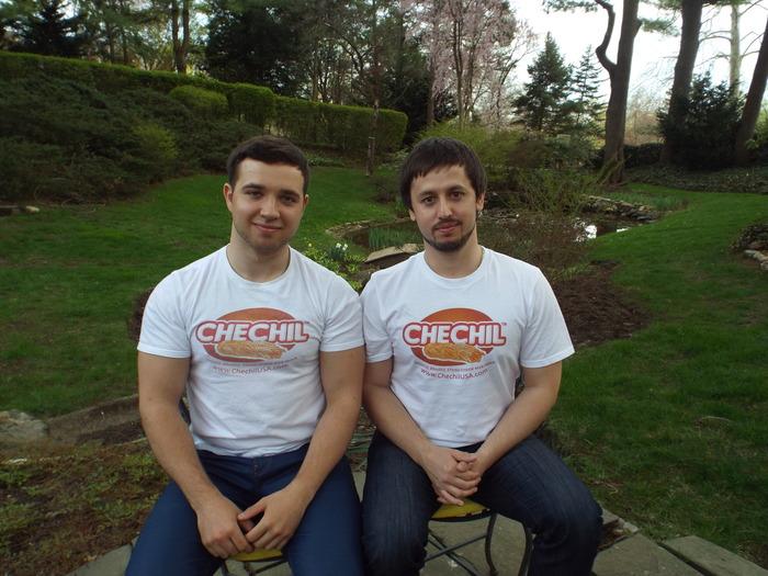 Founders Sergy Yurkin and Konstantin Savelyev