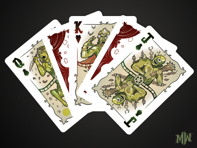 AEIOU...and Sometimes Why: Kickstarter - Monster Montage Playing Cards