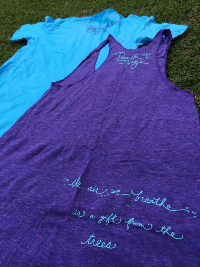 Ladies T-Shirt and Tank top (Back)