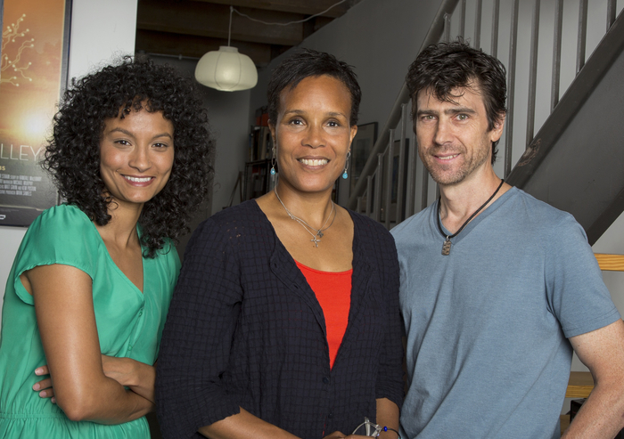 L–R: co-director/co-producer Jamila Wignot, co-director/producer Tracy Heather Strain, producer/post-production supervisor Randall MacLowry