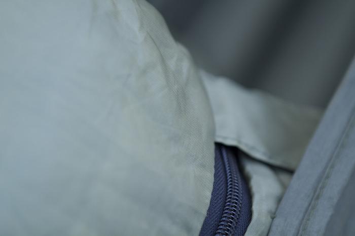 Velcro Strap to keep zipper zipped!
