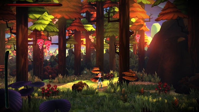Platformer Red Goddess an Unreal Engine 4 game on Kickstarter