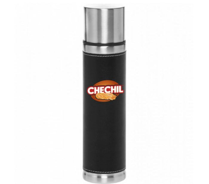 Leather/Stainless Steel Coffee Tumbler at $450 Level