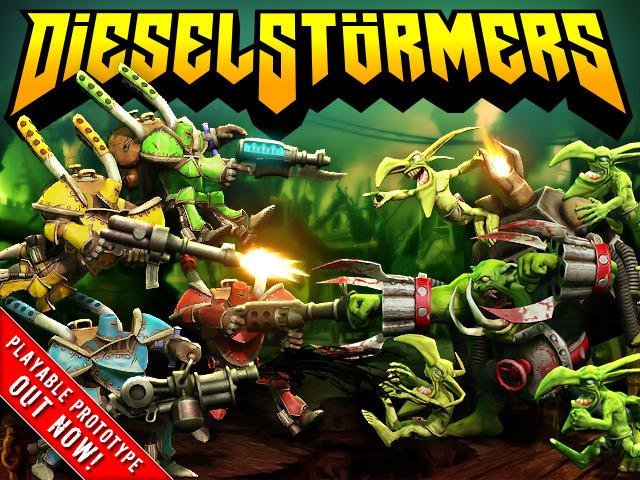 DieselStormers - Knights of Run 'n' Gun