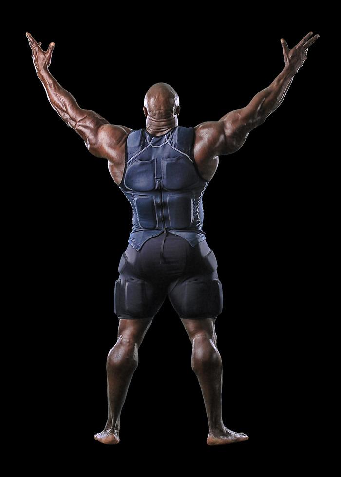 IFBB professional bodybuilder Toney Freeman