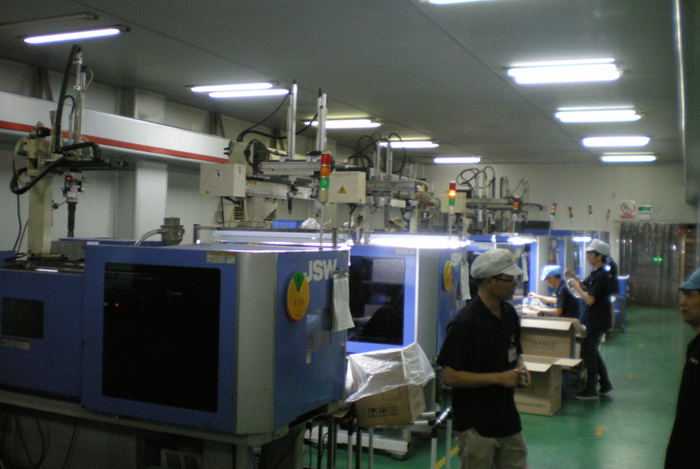 Our new injection molding facility