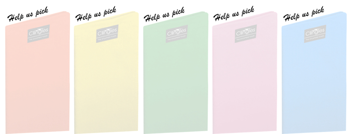 If we hit the stretch goal our backers will be involved in a vote choosing 5 additional colors!