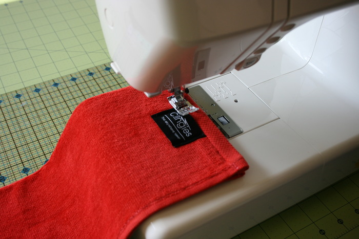 The entire seam is sewn shut including the magnet pouch.