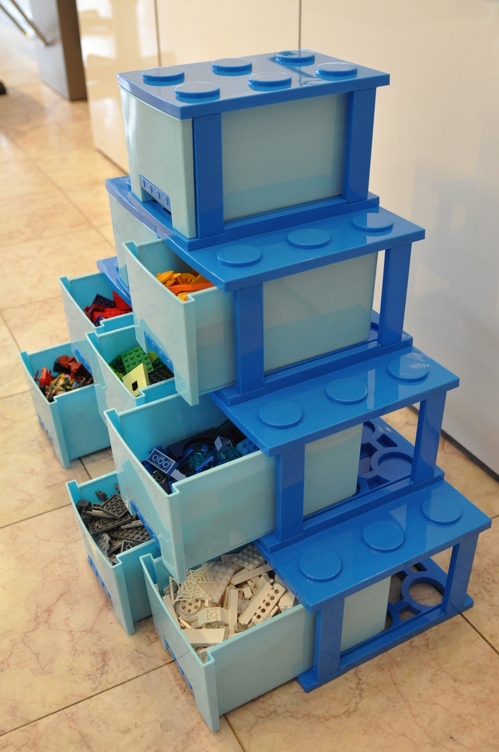 treasure bricks may be your next lego storage solution. Black Bedroom Furniture Sets. Home Design Ideas