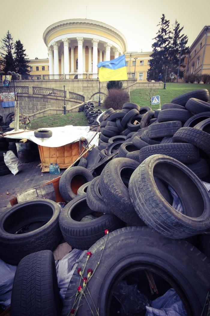 Our company will be performing on the Maidan, Kiev. (c) Helena Miscioscia