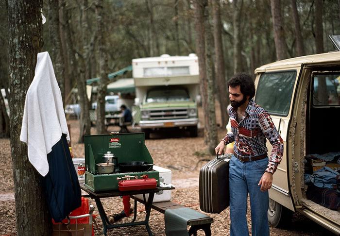 Camping, Georgia 1978
