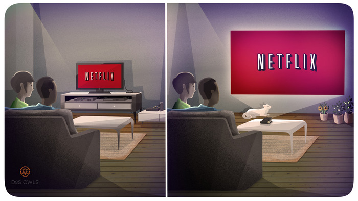 Stream and beam Netflix in your living room via ODIN's WiFi.  Access to over 1 million apps on the Android ecosystem gives you endless options for online content.