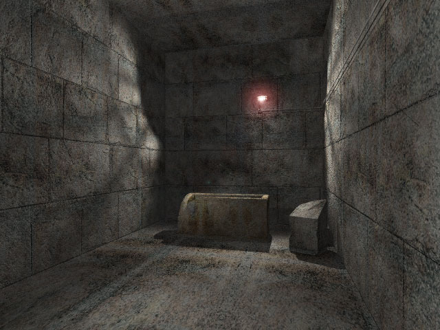 Screenshot and 3d model of King's Chamber in Great Pyramid