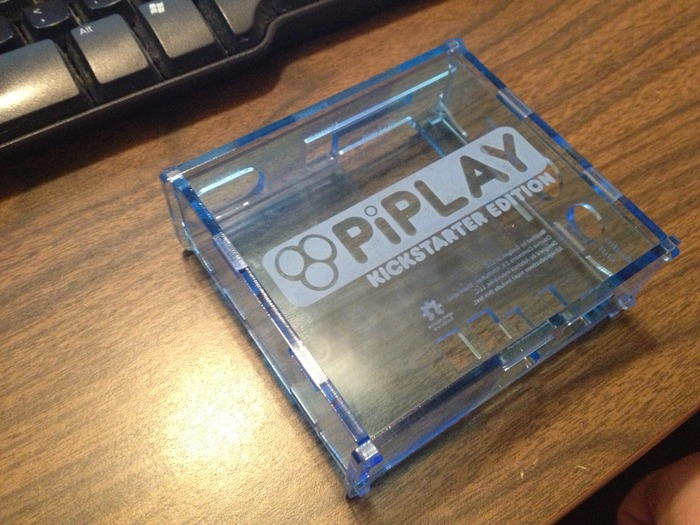 PiPlay Case Kickstarter Edition