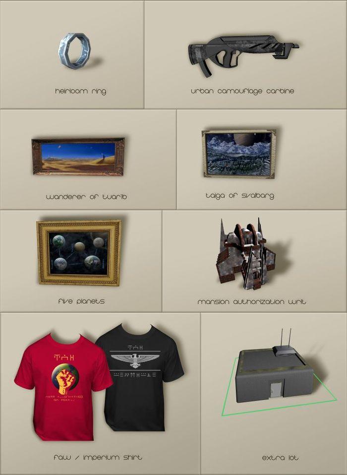 Showcase of Rewards