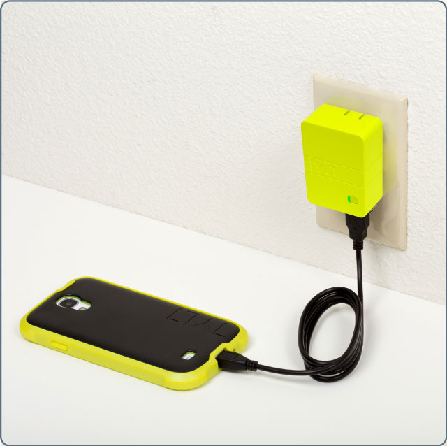 Use it as your everyday wall charger