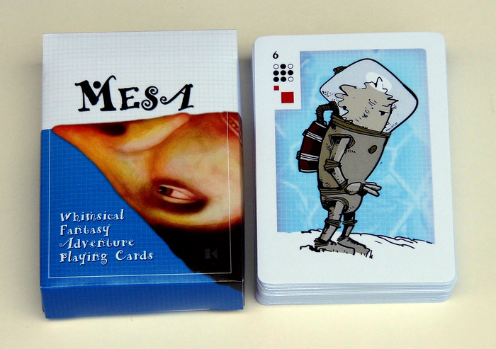 The Mesa standard deck of playing cards.