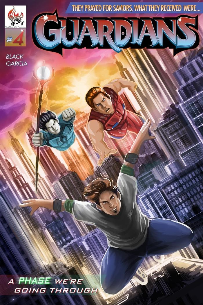 Guardians #4 Cover