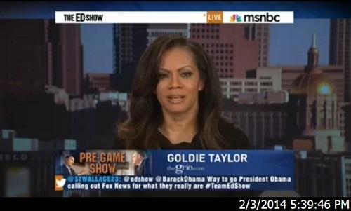 Goldie Taylor on MSNBC