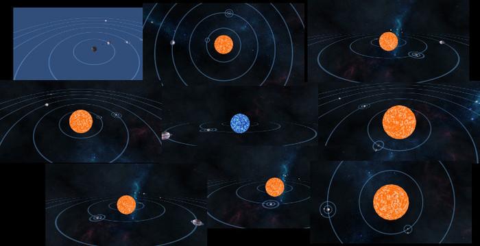 Procedural Solar Systems