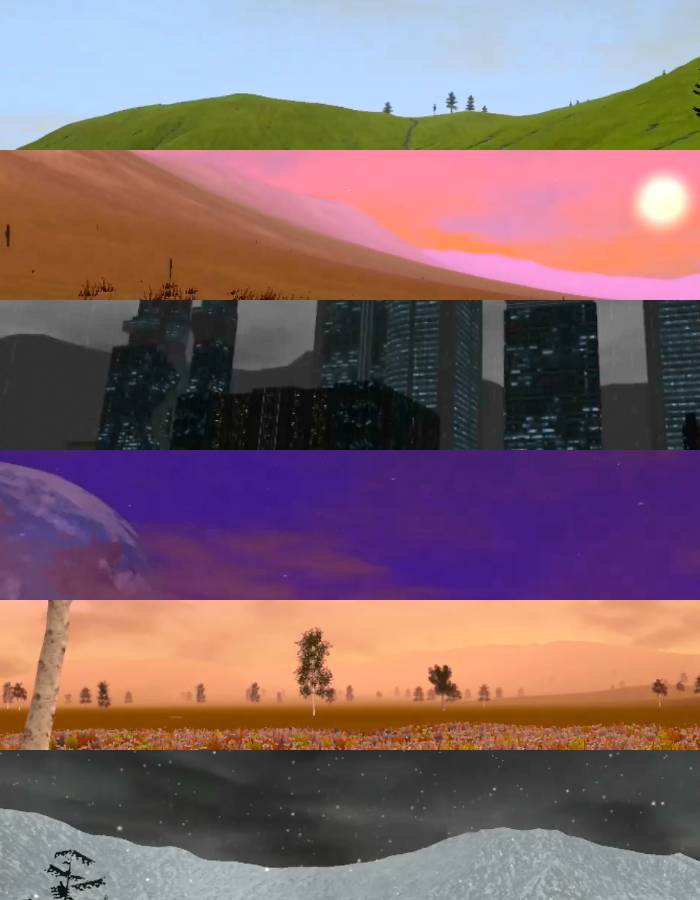 Examples of TFR's Worlds