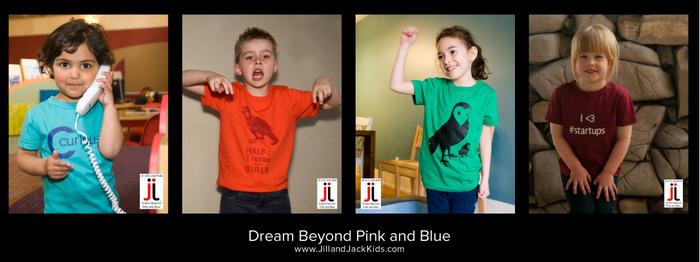 Jill and Jack Kids Shirts