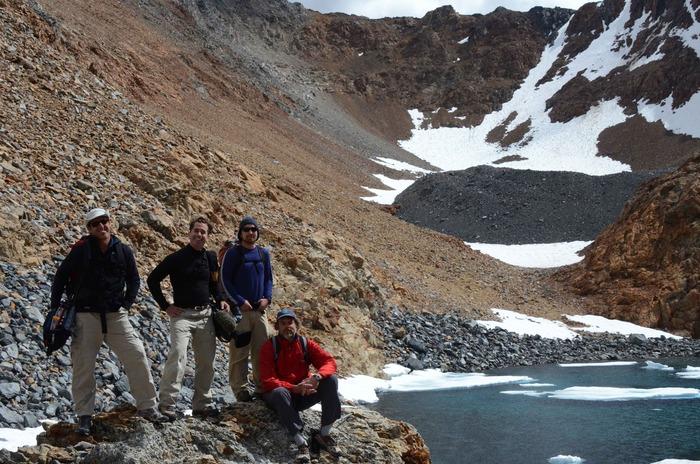 Producer Kit Tyler and crew document the vanishing ice of Dana Glacier in California's Sierra Nevada mountains